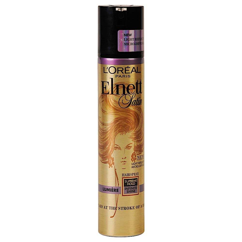ELNETT SATIN SPRAY LUMIERE 200ml
