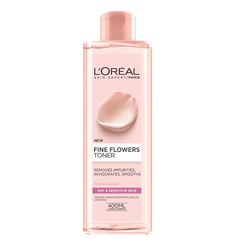 L'OREAL PARIS FINE FLOWERS TONER DRY & SENSITIVE SKIN