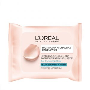 L'ORÉAL PARIS Fine Flowers Cleansing Wipes Normal To Combination Skin