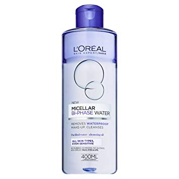 L'OREAL PARIS BI-PHASE MICELLAR WATER