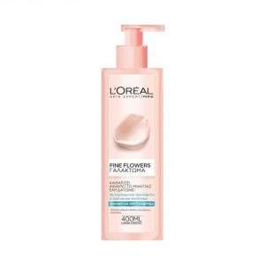 L'OREAL PARIS FINE FLOWERS CLEANSING MILK FOR NORMAL/COMBINATION SKIN