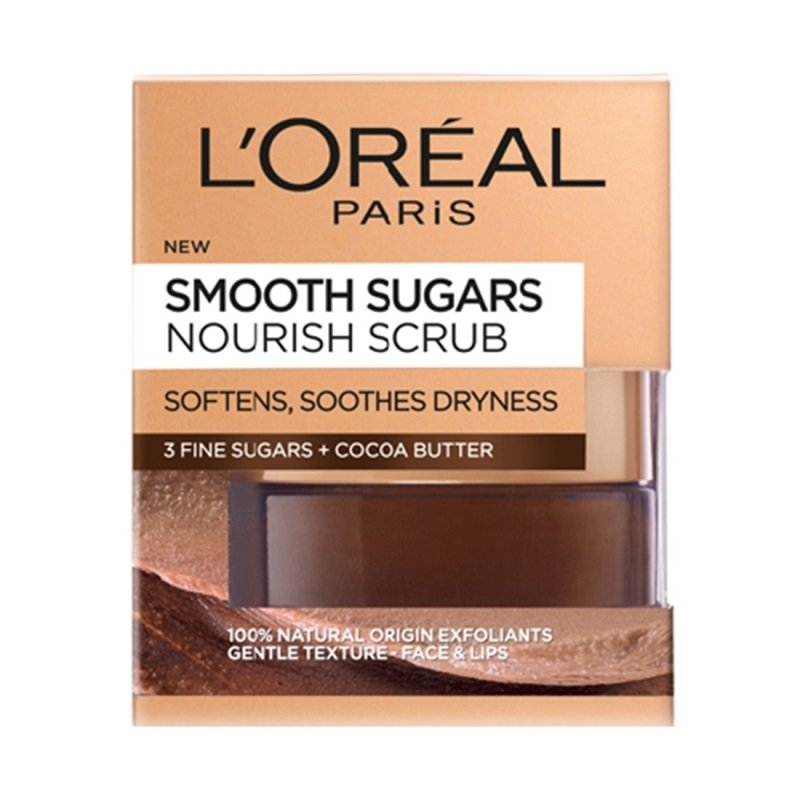 L'OREAL PARIS SMOOTH SUGARS NOURISH SCRUB