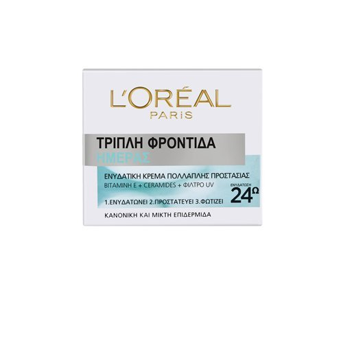 L'OREAL PARIS TRIPLE ACTIVE 24Η HYDRATION FOR NORMAL/MIXED SKIN
