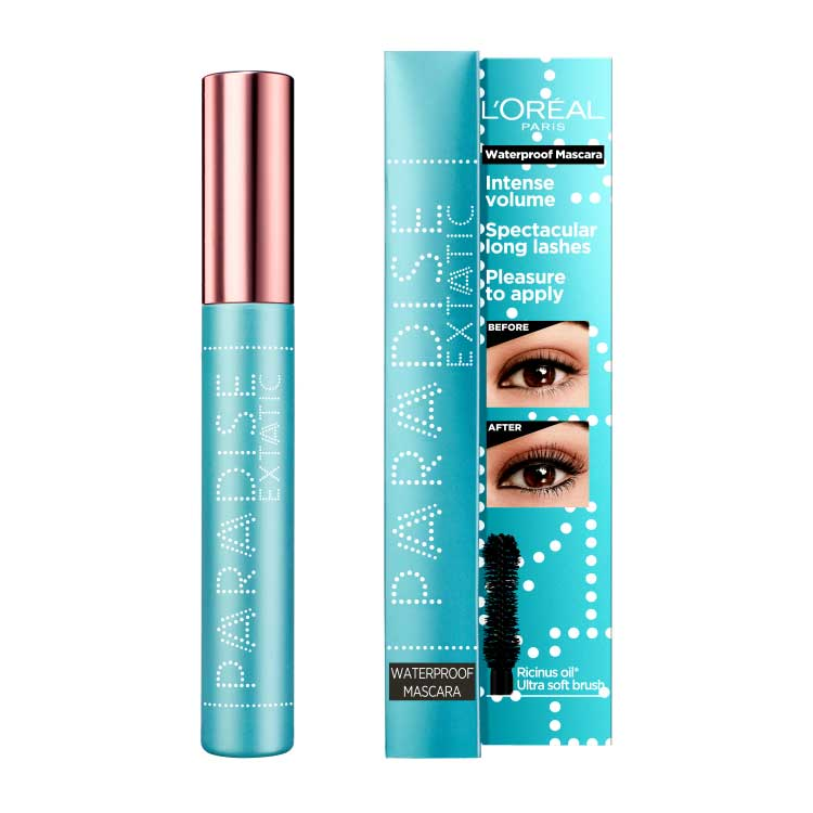 L'OREAL PARIS PARADISE EXTATIC WATERPROOF MASCARA BLACK