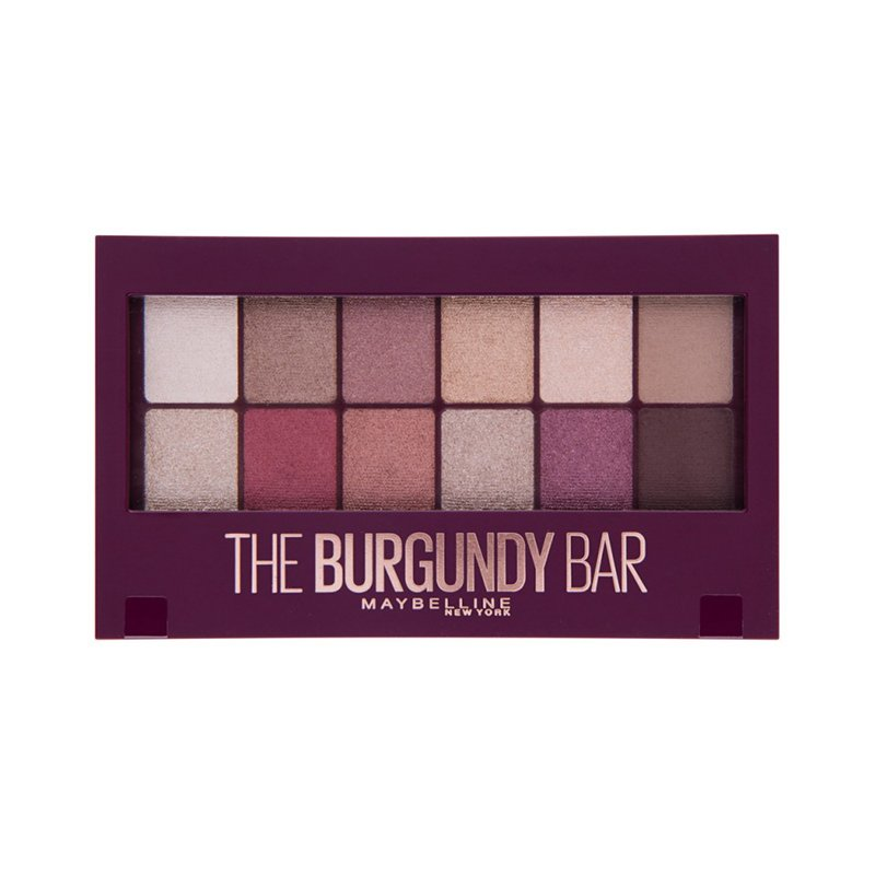MNY BURGUNDY BAR EYESHADOW PALETTE