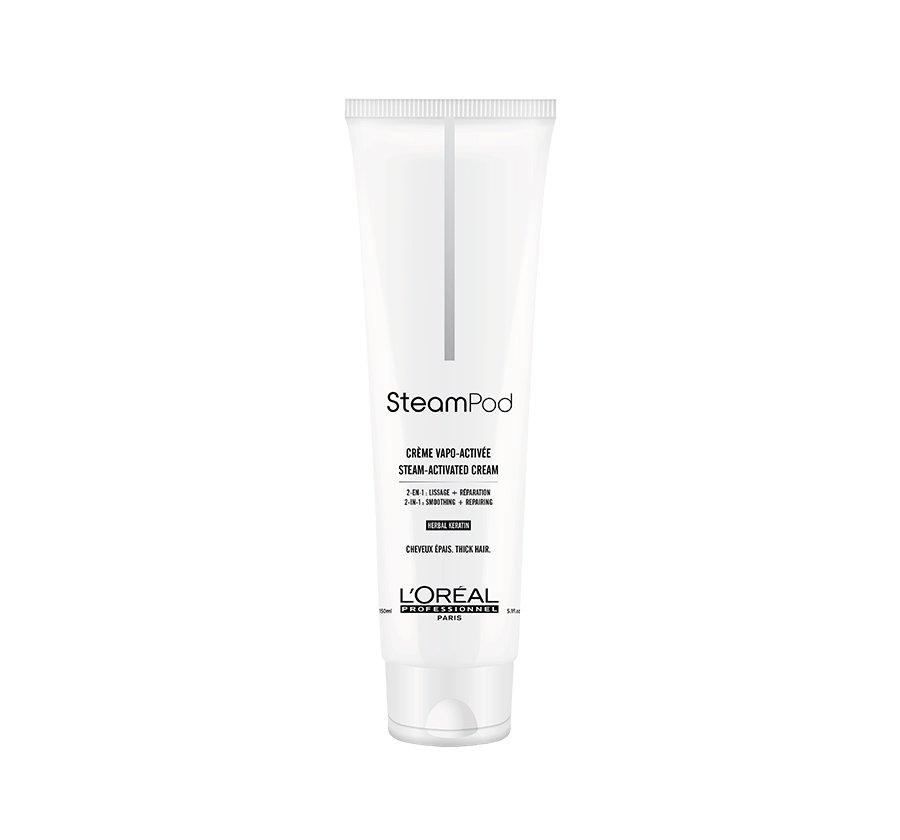 Steampod Smoothing Cream για χοντρά μαλλιά 150ml