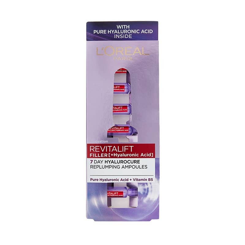 L'OREAL PARIS REVITALIFT FILLER REPLUMPING AMPOULES