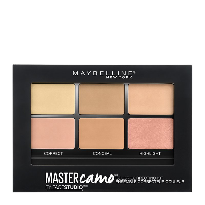 MNY MASTER CAMO COLOR CORRECTING KIT 2 MEDIUM