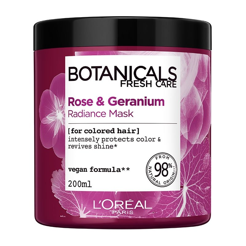 BOTANICALS ROSE & GERANIUM MASK