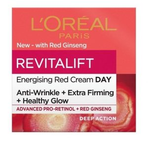 L'ORÉAL PARIS Revitalift Energising Red Day Cream 50Ml