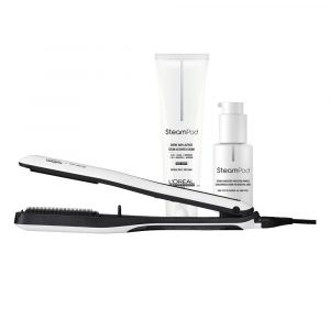 L'ORÉAL PROFESSIONNEL Steampod 3.0 + Smoothing Cream For Fine Hair 150Ml + Smoothing Serum 50Ml