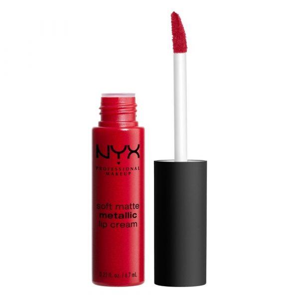Soft Matte Metallic Lip Cream | NYX Professional Makeup