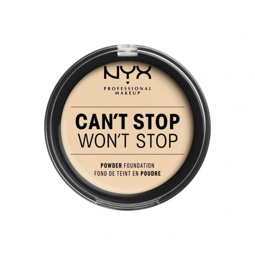 Can't Stop Won't Stop Powder Foundation | NYX Professional Makeup