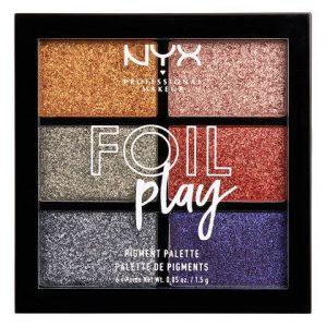 NYX PROFESSIONAL MAKEUP Foil Play Pigment Palette