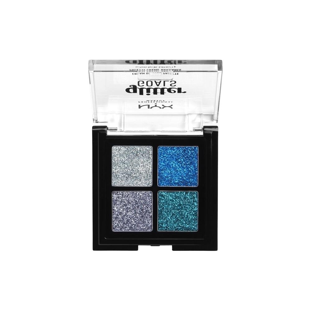 NYX Glitter Goals Cream Quad Palette