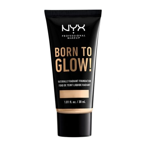 Born To Glow! Naturally Radiant Foundation   NYX Professional Makeup