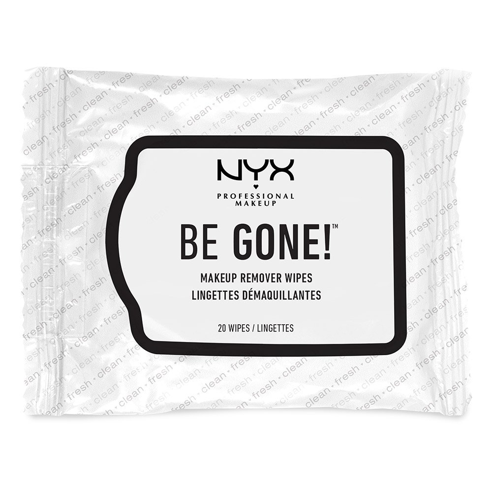 NYX Be Gone! Makeup Remover Wipes