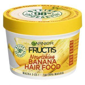 FRUCTIS Hair Food Banana Mask 390Ml