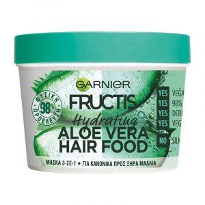 FRUCTIS Hair Food Aloe Mask 390Ml