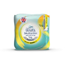 LIL-LETS FRESHLOCK PADS NORMAL X 14