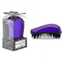 DESSATA MAXI Purple Detangling Hair Brush