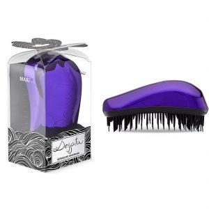 DESSATA Purple Detangling Hair Brush