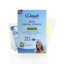 DIMPLES WAX FACIAL STRIPS - SENSITIVE SKIN