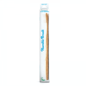 HUMBLE Brush Adult White-Soft