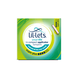 LIL-LETS Applicator Tampon Super Plus X14