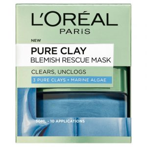 L'ORÉAL PARIS Pure Clay Antiblemish Mask 50Ml