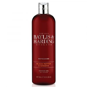 BAYLIS & HARDING Signature Black Pepper Moisturising Shower Gel  500Ml