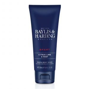 BAYLIS & HARDING Signature Citrus Lime & Mint Hair & Body Wash – 250Ml
