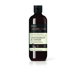 B&H GOODNESS LEMONGRASS & GINGER BODY WASH  500ML