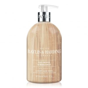 BAYLIS & HARDING Elements Hand Wash – Oud & Bergamot  500Ml