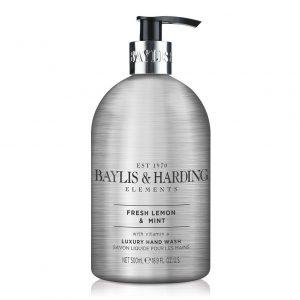 BAYLIS & HARDING  Elements Hand Wash – Lemon & Mint  500Ml