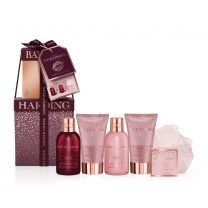 B&H CRANBERRY MARTINI MINI STACK GIFT XMAS SET