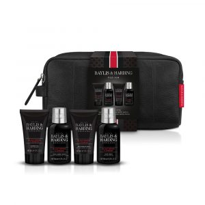 B&H SIGNATURE MEN'S BLACK PEPPER & GINSENG WASH XMAS GIFT BAG
