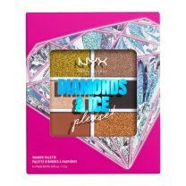 NYX 6 PAN SHADOW PLT- JEWELED&JADED