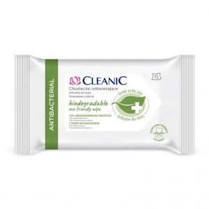 CLEANIC Antibacterial Wet Wipes