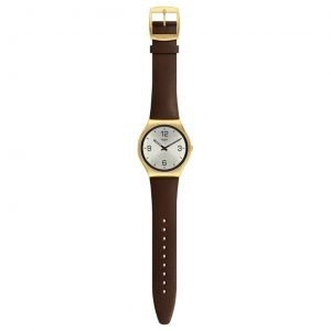 SWATCH SKIN SUIT COFFEE