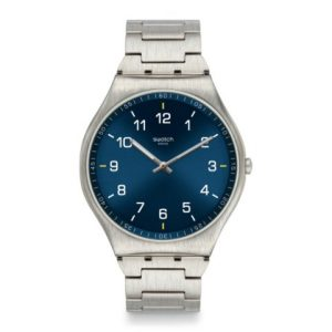 SWATCH SKIN SUIT BLUE