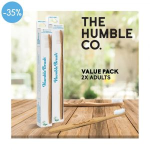 HUMBLE Adult White Value Pack X2