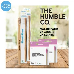 HUMBLE Value Pack 2Xadult, 2 Swabs