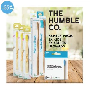 HUMBLE Value Family Pack Mega, 2 X Adult, 3 X Kid, 1 X Swabs