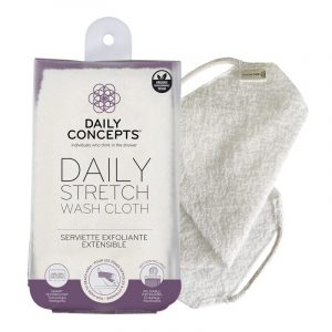 DAILY CONCEPTS  Stretch Wash Cloth