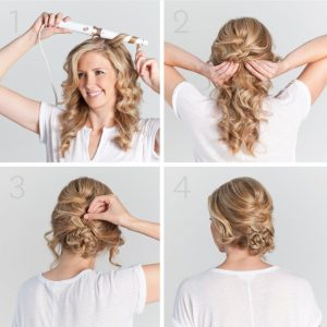 T3 Tousled Waves Tapered Interchangeable Styling Wand