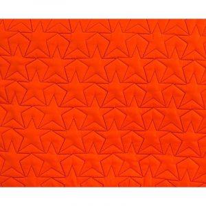 BLEECKER & LOVE Stars Neon Orange Large