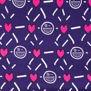 BLEECKER & LOVE Smack Plum Scrunchie