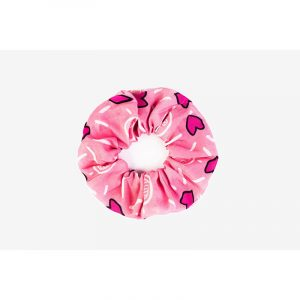 BLEECKER & LOVE Fulmine Pink Scrunchie