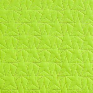 BLEECKER & LOVE Stars Neon Yellow Large